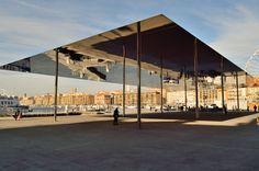foster + partners: vieux port pavilion, marseille, 2013