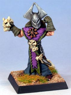 Citadel Chaos Sorcerer. Painted by Steve Dean.