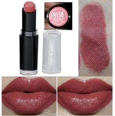 Wet'n'Wild Megalast Lipstick Spiked with Rum 915B Dupe for Mac Del Rio