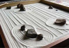Risultati immagini per giardino zen in casa