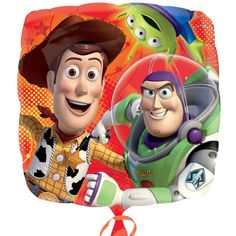 Anagram 17 inch Toy Story Gang Foil BalloonSet the mood right on your Toy Story themed party.By throwing in this Toy Story Gang Square Foil Balloon and let it take the party fun to infinity and beyond! Match this with same Toy Story theme party decoration and you're all set.QUALITY PRODUCTS ALWAYSOUR PRODUCTS ARE 100% AUTHENTIC & GENUINE100% OF THE TIMEFoil balloons make decorating for your party easy and fun. Add to a balloon bouquet or tie to the birthday child's chair for ...