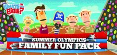 """Free Olympic Family Fun Pack from """"What's in the Bible?""""!"""