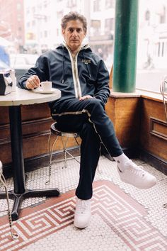 Michael Imperioli of The Sopranos Models Kith's New Collection for Bergdorf Goodman Photos Tony Soprano, Christopher Moltisanti, Die Sopranos, Really Good Movies, Frankie And Johnny, Tough Guy, Classic Tv, Movies, Writers