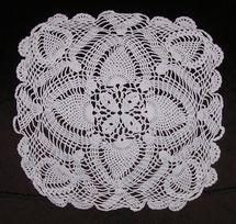 Inspiration! 9 Amazing Vintage Crochet Doilies: Square Crochet Doily
