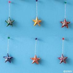 Ornaments - Wishing Stars Ornament Set | SERRV