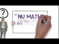Contact me if you would like more information!!! It is such a great product!! 123 NUC - The NuCerity Math