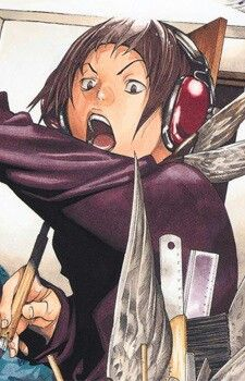 Okay, so this character is Eiji from Bakuman. He's like a hyper L.