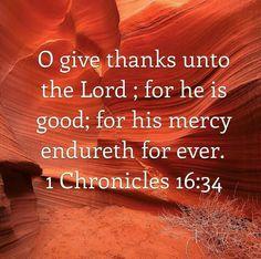 1 chron 16:34