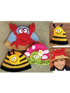 Bright & Beachy Hats Pattern