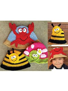 Bright & Beachy Hats Pattern