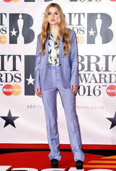 The Brits Red Carpet in Brief: Thighs, Nighties and Jumbo Dresses via @WhoWhatWearUK