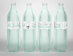 Water Bottle Packaging Designs That Stands Out - Ateriet Water Packaging, Water Branding, Beverage Packaging, Bottle Packaging, Coffee Packaging, Mineral Water Brands, Coca Cola, Agua Mineral, Water Bottle Design