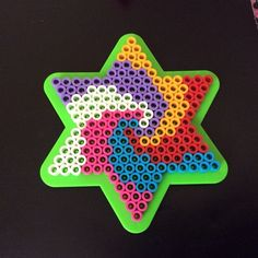 Perler bead star by crafty_k_creations