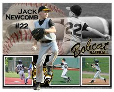 Items similar to Custom Sports Photo Posters on Etsy Baseball Scrapbook, Baseball Banner, Baseball Party, Baseball Mom, Rockies Baseball, Photography Software, Sport Photography, Baseball Pictures, Sports Pictures