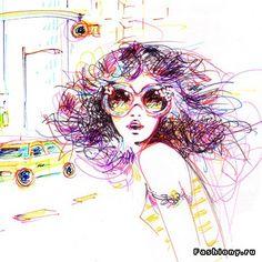 Фешн-иллюстратор Antoinette-Fleur