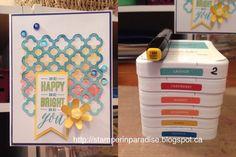 *Stamper in Paradise: Artistry Card