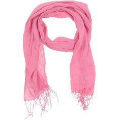 Alviero Martini 1a Classe Scarf (927.555 IDR) ❤ liked on Polyvore featuring accessories, scarves, fuchsia, gauze scarves, fringe shawl, logo scarves and fringe scarves