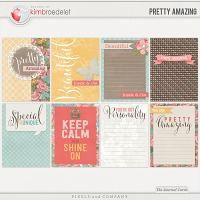Pretty Amazing : The Journal Cards