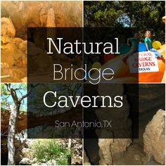 A look at the Natural Bridge Caverns in San Antonio, Texas.  Non Fiesta ideas