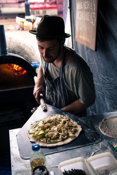 London Street Food. Looks like a great pizza