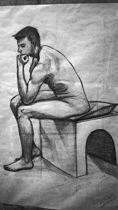 figural sketch pencil