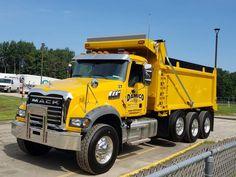 Mack Dump Truck, Old Mack Trucks, Big Rig Trucks, Lifted Trucks, Dump Trucks For Sale, Hydraulic Ram, Equipment Trailers, Custom Big Rigs, Snow Plow