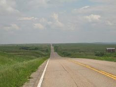 Open road and summer days in Williston