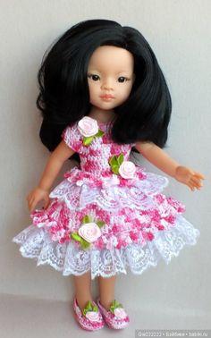 """Платье """" Карамелька """" для паолочек . При покупке двух нарядов доставка в подарок !!! / Одежда для кукол / Шопик. Продать купить куклу / Бэйбики. Куклы фото. Одежда для кукол"""