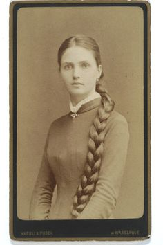 Izabella Potocka. Lwów, ca 1880.