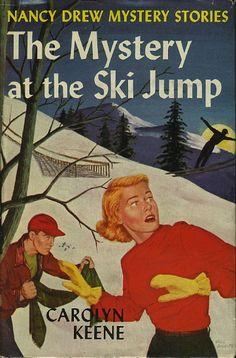 carolyn keene nancy drew books | Keene, Carolyn [Alma Sasse]. THE MYSTERY OF THE SKI JUMP: Nancy Drew ...