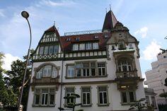 Villa Osterloff (manoir du Contades)façades, toitures, terrasses, grille sur rue avec portails