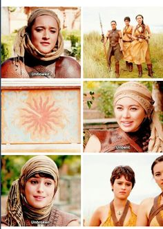 The Sand Snakes...It different from how I imagined them and how they are described in books, but let's see..