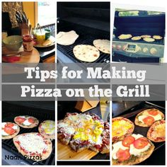 Tips for making pizza on the grill. Grilled pizza