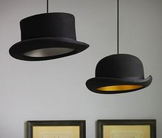 Jeeves Hat Pendant Lamp from Picsity.com