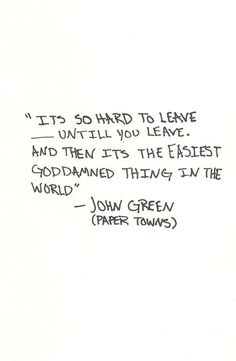 John Green is my life