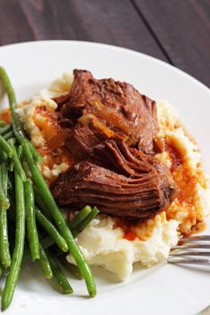 A slow cooker pot roast is a welcome sight on a cold and busy evening. The slow braise allows the flavors to develop, making this one of my favorite recipes.