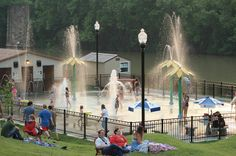 Palentine Park Splash Pad and Amphitheater
