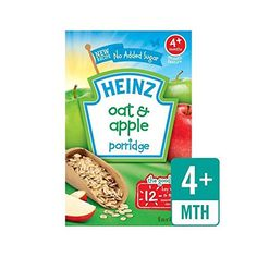 Heinz Breakfast Oats & Apple Cereal 4 Mths+ 125g - Pack of 6