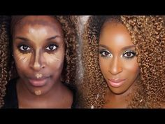 Sometimes makeup tips for brown eyes can be tricky to find. But there are tons of makeup tips and tricks for brown eyes and how to make dark brown eyes stand. Contour For Dark Skin, Powder Contour, Cream Contour, Contour Kit, Contouring For Beginners, Makeup Tips For Beginners, Nose Contouring, Contouring And Highlighting, Nose Highlight