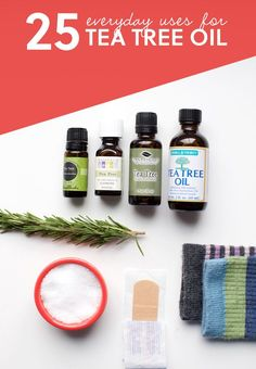 Love this list! Learn about the incredible tea tree oil uses for your health, skin, hair and around the house.