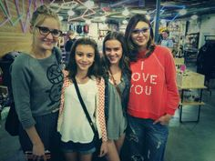 Taylar Hender and I met Aly and AJ the other day! LOVE THEM!!