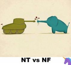 I am both (INFJ&INTJ) This elephant might shoot cannon balls, this tank may sprout bouquets. --wow, another INTJ/INFJ :). Infj Mbti, Intj And Infj, Enfj, Introvert, Infp Personality, Myers Briggs Personality Types, Myers Briggs Personalities, 16 Personalities, Thing 1