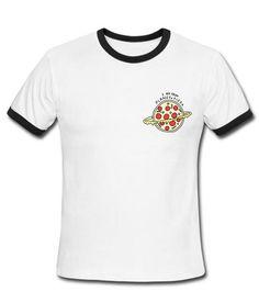 i am from planet pizza Contrast T shirt #tshirt #shirt #graphicshirt #funnyshirt