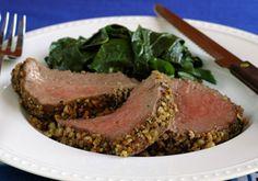 Herb Crusted Tenderloin Roast | Recipes | Mrs. Dash