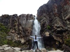 Tongariro waterfalls