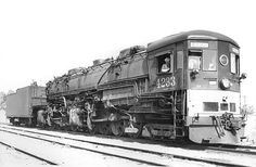 A 4-8-8-2 Southern Pacific AC 10 Cab Forward number 4233