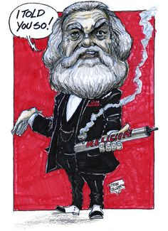 Marx and the Exploding Bomb