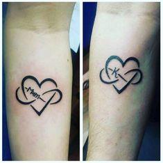 Mutter-Tochter-Tattoo