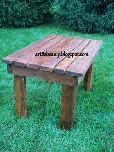 ART IS BEAUTY: FINISHED farm house table