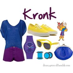 """Kronk"" by disney-villains on Polyvore"